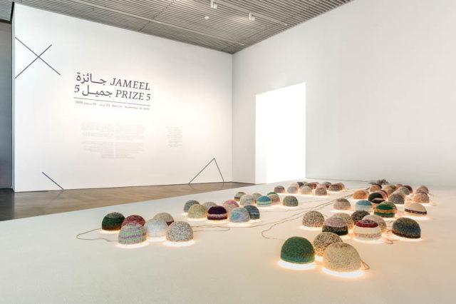 Younes Rahmoun at Jameel Prize 5 Dubai