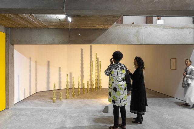 Younes Rahmoun's Nakhla-Nakhla installation at Malhoun 2.0